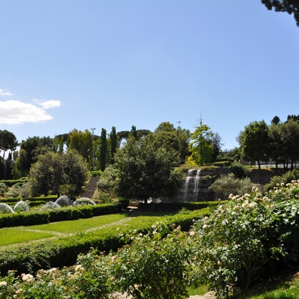 Giardino delle cascate open house roma for Cascate in giardino